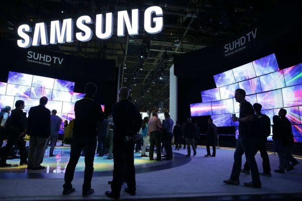 Samsung presenta una pantalla plegable