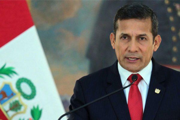 Dictan medidas cautelares a Humala por lavado de activos