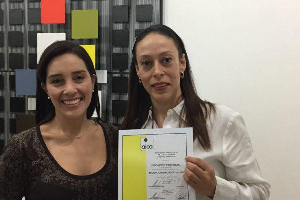Fundación BBVA Provincial recibe reconocimiento por su labor cultural