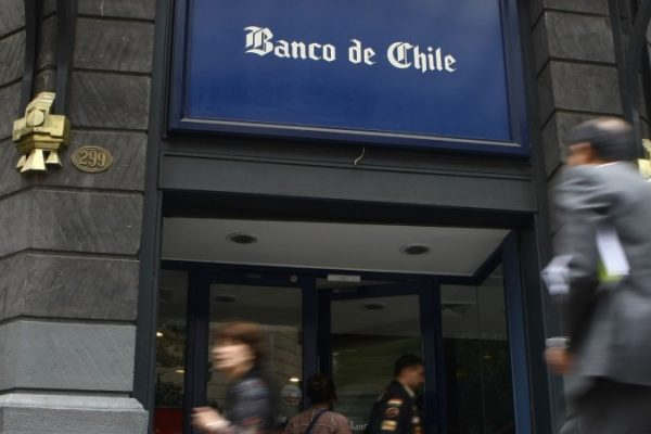 Banca chilena ganó 348,40 millones de dólares en enero de 2018