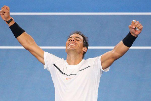 Nadal vence a Dimitrov y jugará la final del Open de Australia contra Federer