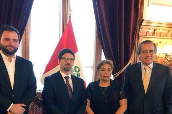 Cancillería de Perú llamó a encargado de negocios en Venezuela