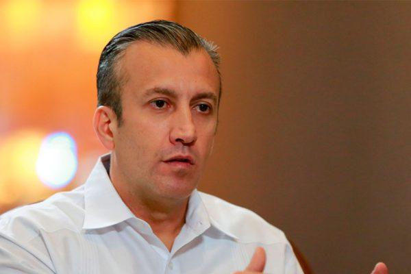 Con salario mínimo de $1,80 mensuales El Aissami dice que «estamos en plena recuperación»