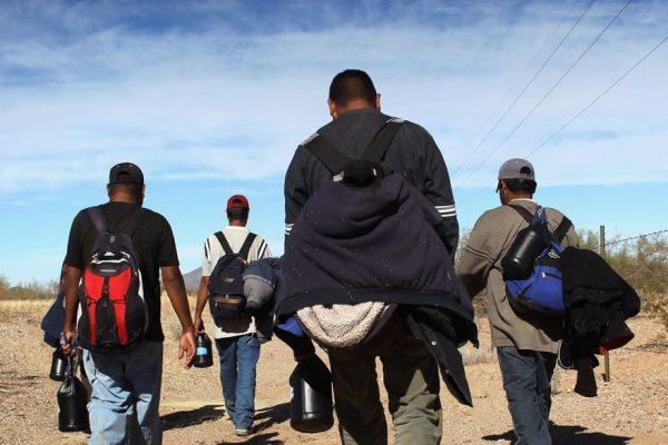 Aumentan 50% detenciones de migrantes ilegales en la frontera México-EEUU