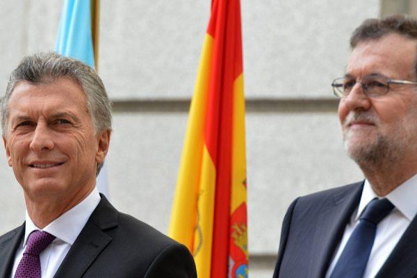 Macri y Rajoy piden respeto al Estado de derecho en Venezuela