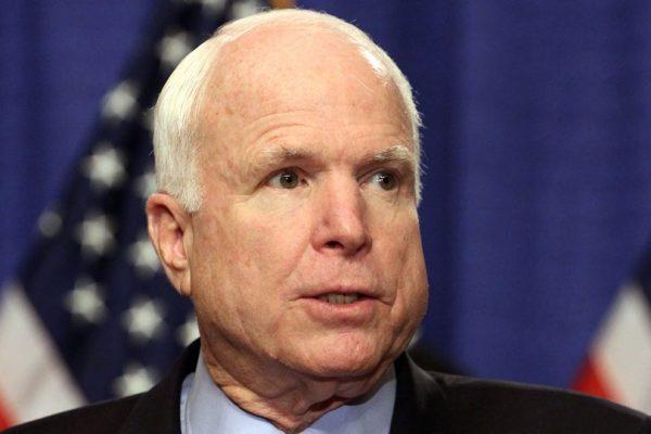 Senador estadounidense John McCain padece cáncer cerebral