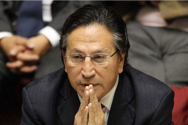 Toledo pemanecerá detenido en EEUU durante proceso de extradición a Perú