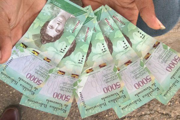 Ceofanb ha incautado Bs. 2.300 millones del nuevo cono monetario
