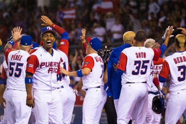 Puerto Rico derrotó a Venezuela y mantuvo invicto en Clásico Mundial de Béisbol