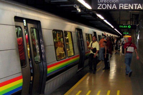 Metro de Caracas suspende servicio en cuatro estaciones este jueves