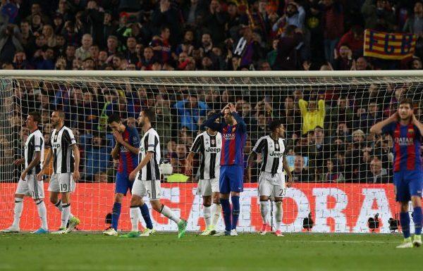 El Barcelona se despide de la Champions ante la Juventus