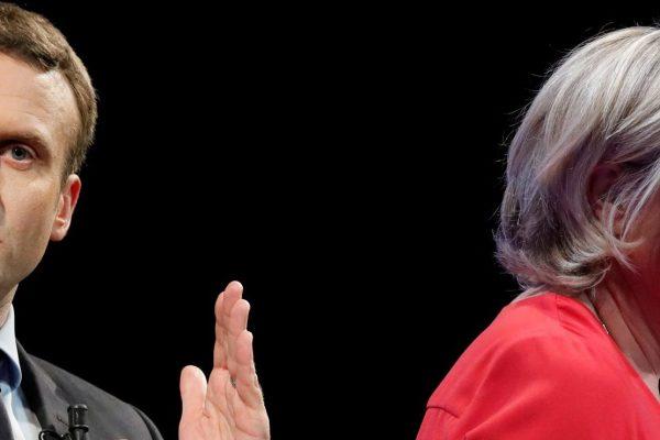 Macron y Le Pen pasan a balotaje en elecciones de Francia
