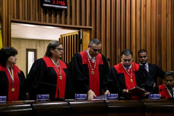 Fiscal General pide antejuicio de mérito para magistrados de la Sala Constitucional del TSJ