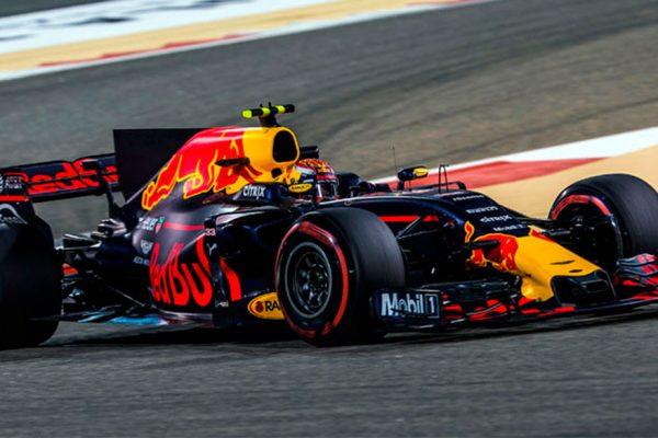 Verstappen fue el más rápido en el tercer entrenamiento del Gran Premio de Bharein