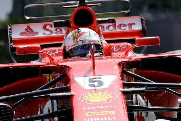 Kimi Raikkonen logró la pole en el GP de Italia