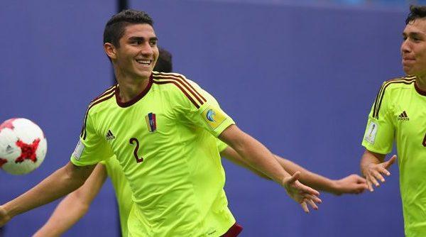 Venezuela clasifica a octavos en el Mundial Sub-20 tras vencer 7-0 a Vanuatu
