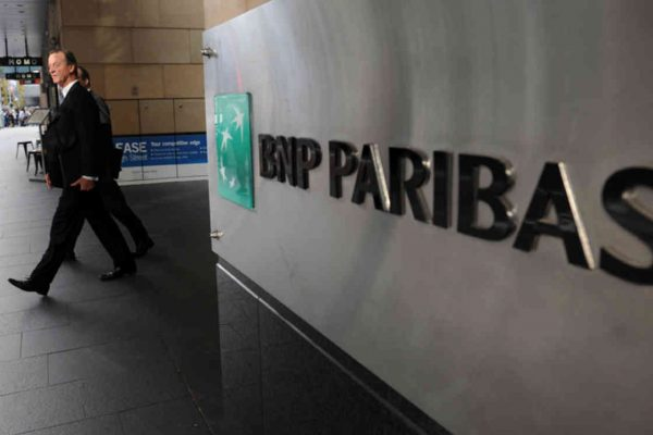 BNP Paribas ganó US$4.222 millones en el primer semestre, 18,4% menos que en 2019