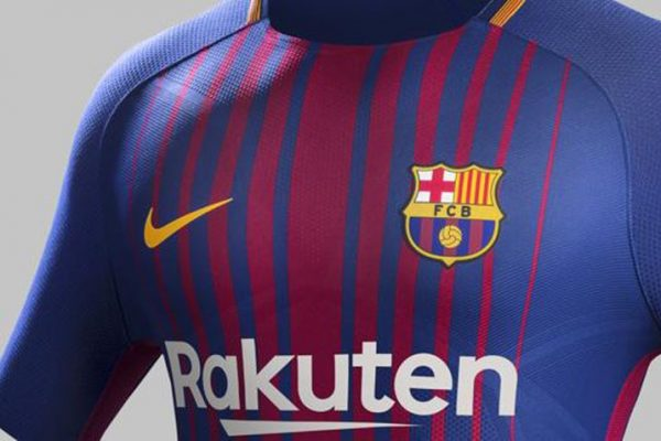 Nike presenta la nueva camiseta del Barcelona