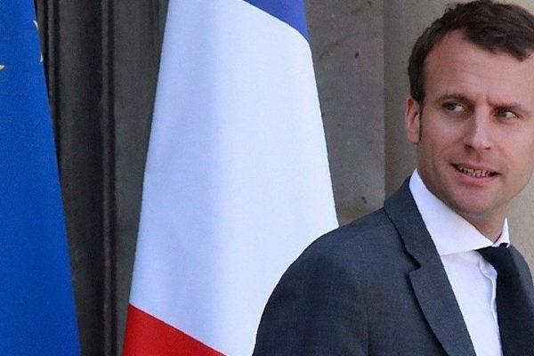 Macron advirtió que las tensiones comerciales