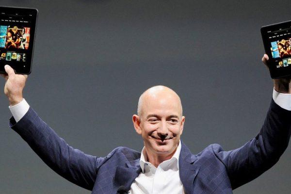 Jeff Bezos, fundador de Amazon, se convierte en la persona más rica del mundo