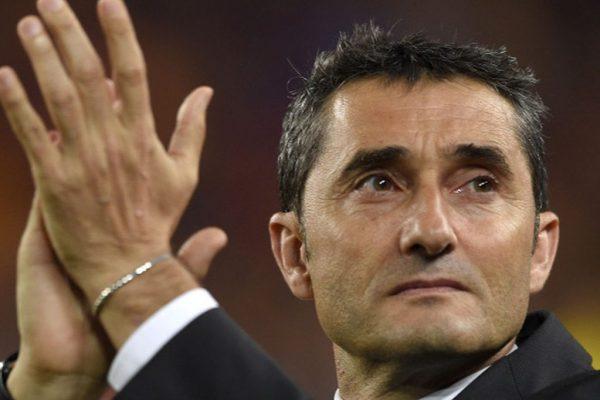 Ernesto Valverde fue presentado oficialmente como nuevo entrenador del Barcelona