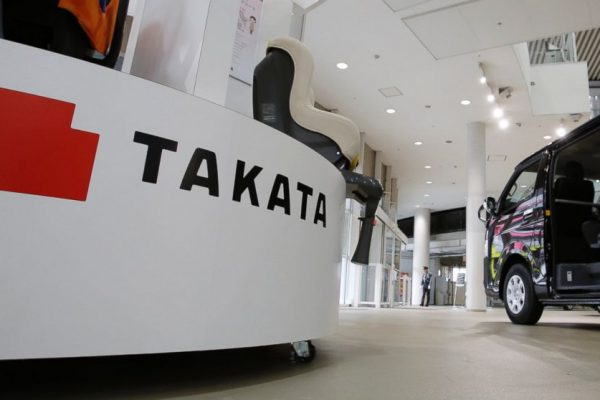 Fabricante japonés de bolsas de aire para autos Takata se declara en quiebra