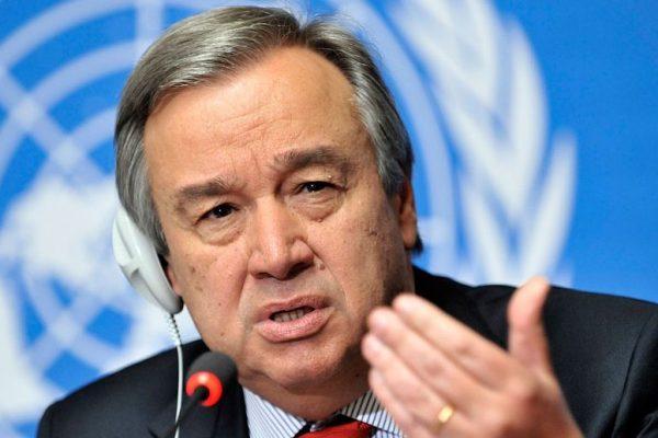 Antonio Guterres: el mundo «no va por buen camino» sobre el clima