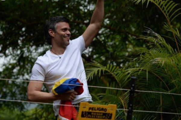 Devuelven beneficio de arresto domiciliario a Leopoldo López