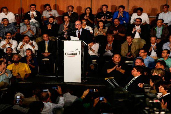 MUD: medida para Leopoldo López es el resultado de la insistente presión de calle