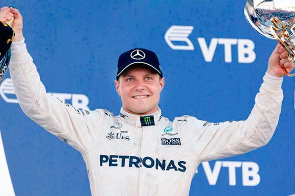 Valtteri Bottas logró la pole en el Gran Premio de Austria