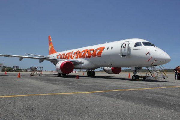 Conviasa activa vuelos especiales para repatriar a venezolanos desde República Dominicana este #10Sep
