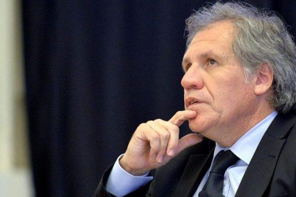 Almagro: No se puede reconocer resultados electorales en un país en el cual no existen garantías