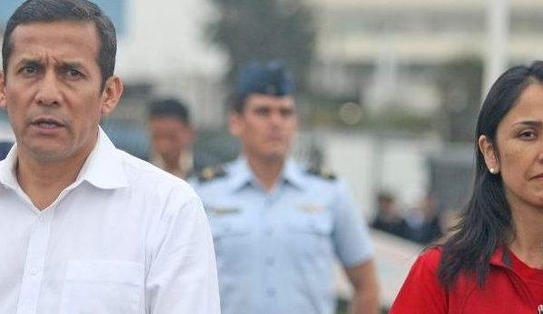 Perú: Expresidente Humala y su esposa se entregan a la justicia tras orden de prisión