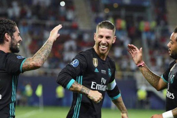 Real Madrid vence 2-1 al Manchester United y se queda con la Supercopa de Europa