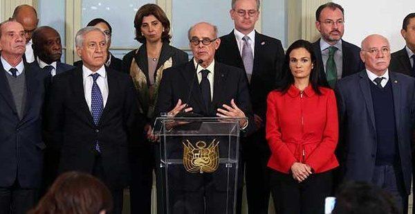 Doce países condenaron que Asamblea Constituyente usurpe al Parlamento