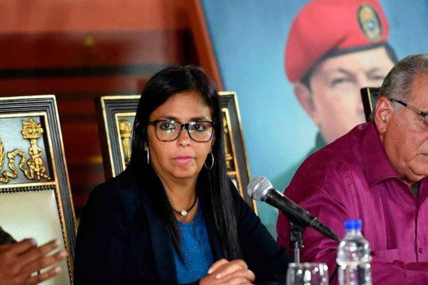 Delcy Rodríguez: El Parlamento no está disuelto