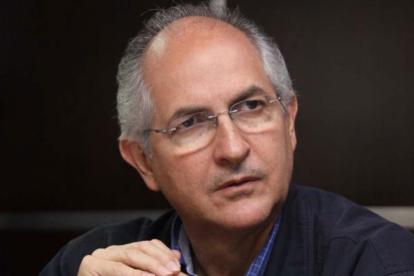 Ledezma pide a comunidad internacional que intervenga en Venezuela