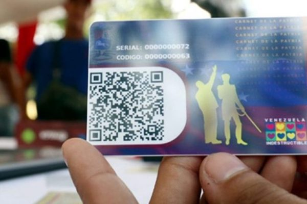 Entregarán bono navideño de Bs. 500.000 a través del carnet de la patria