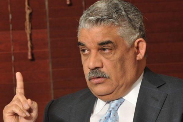 Canciller de Dominicana califica jornada de diálogo como exitosa