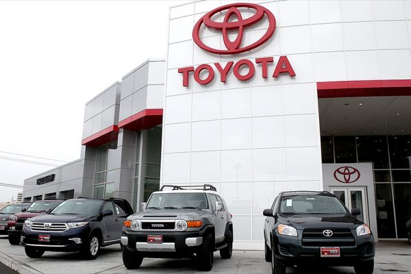 Ventas de Toyota descendieron 45,3% en abril