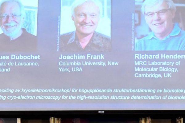 Científicos ganan Nobel de Química 2017 por capturar imágenes de biomoléculas