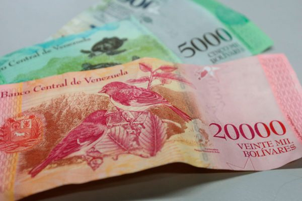 Gobierno ha incautado 0,05% de los billetes nuevos en circulación
