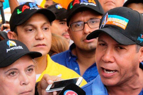 Henri Falcón evalúa su inscripción para elecciones presidenciales