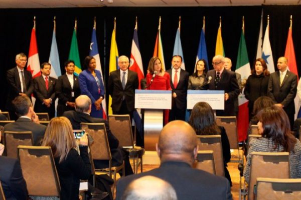 Coalición internacional de 28 países respaldan Gobierno de transición y exigen elecciones libres