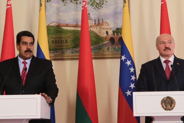 Maduro y Lukashenko acuerdan relanzar proyectos económicos