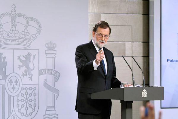 Mariano Rajoy rechazó reunirse con Carles Puigdemont