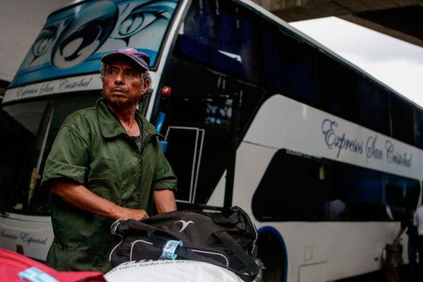 El austero exilio de los venezolanos más pobres