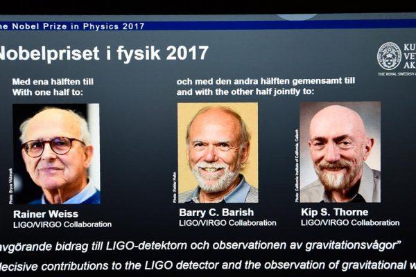 Nobel de Física para descubridores de las ondas gravitacionales