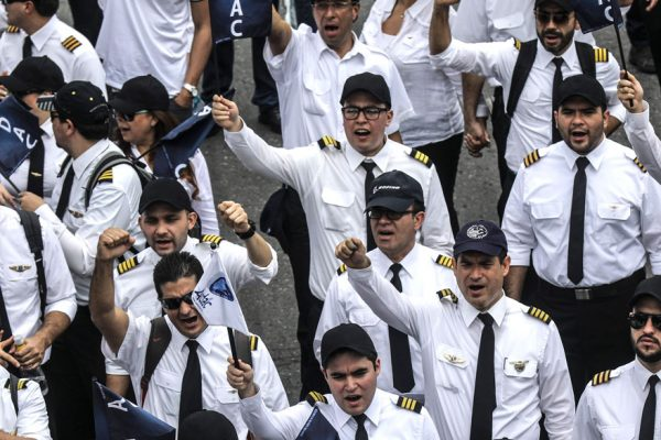 Avianca ha cancelado 8.393 vuelos por huelga de pilotos