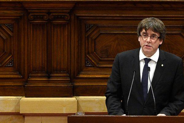 Puigdemont pidió un frente independentista en las elecciones catalanas